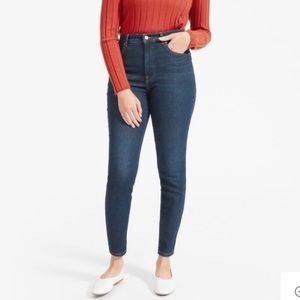 Everlane High Rise Skinny Stretch Jeans Womens 27